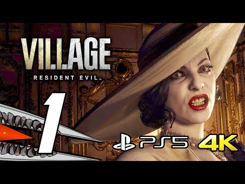 (New) Resident evil 8 village - gameplay walkthrough part 1 (ps5 4k 60fps + ray tracing)