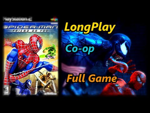 (New) Spider-man: friend or foe - longplay co-op 2 players full game walkthrough (no commentary)