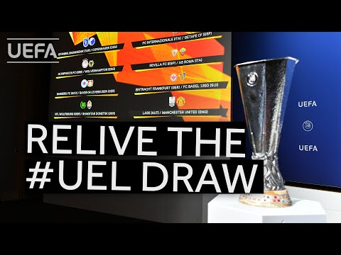 (New) Relive the uefa europa league quarter-final, semi-final and final draws!