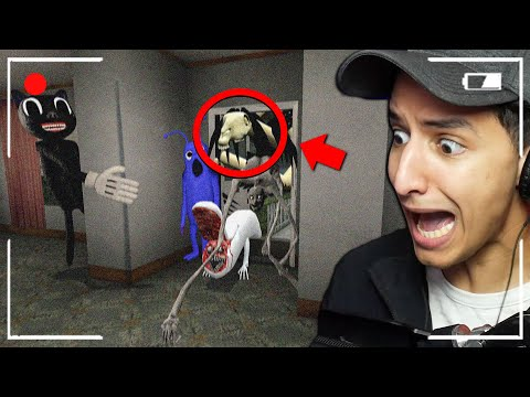 (New) When you see these trevor henderson creatures enter your house, run away fast!!