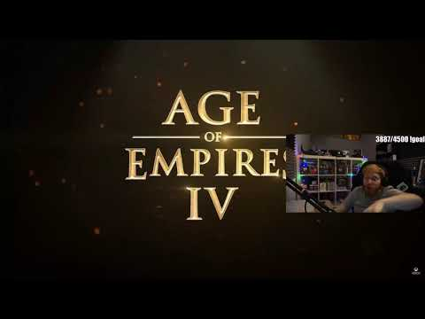 (New) Tommykay reacts to age of empires iv - gameplay trailer