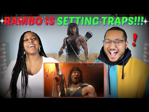 (New) Mortal kombat 11 rambo gameplay trailer reaction!!!