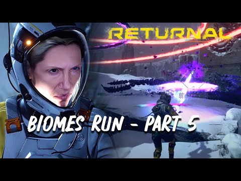 (New) Returnal | complete biomes run part 5 - fractured wastes (4k 60fps) - no commentary (spoilers)