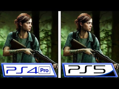 (New) This would be the last of us part ii with nextgen patch | ps4 pro vs ps5 | simulated comparison