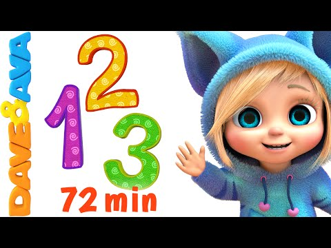 (VFHD Online) Numbers and counting songs collection | nursery rhymes and baby songs from dave and ava