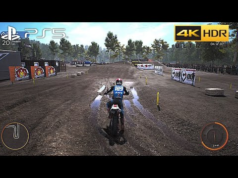 (New) Mxgp 2020 (ps5) 4k 60fps hdr gameplay