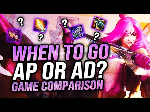(New) Katevolved | when to go ap or ad katarina? game comparison