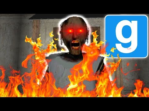 (New) We set grannys house on fire in gmod! | multiplayer garrys mod gameplay