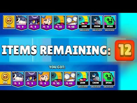 (New) 12 items in mega box compilation