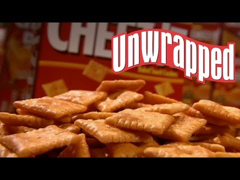 (New) How cheez-its are made (from unwrapped) | unwrapped | food network