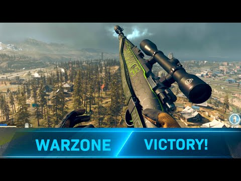 (New) Call of duty: warzone win solo gameplay! (no commentary)