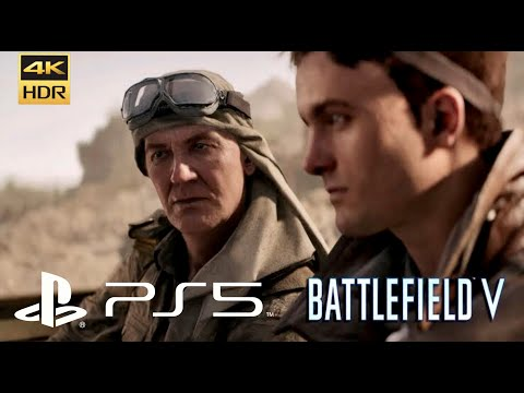 (New) Battlefield 5 gameplay ps5 (4k 60fps )