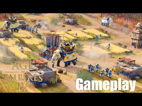 (New) Age of empires iv all gameplay demo and trailer 2021 [4k-60fps]