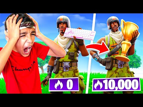 (Ver Filmes) 13 year old plays fortnite arena for 24 hours! (hard!)