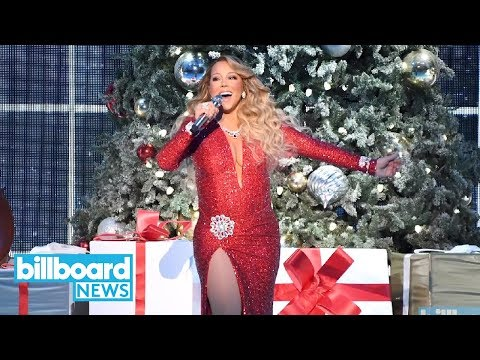 (VFHD Online) Lambily, mariah does the impossible: aiwfciy hits no. 1... 25 years later! | billboard news