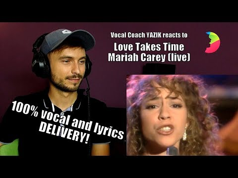(VFHD Online) Vocal coach yazik reacts to mariah carey - love takes time (stockholm 1990)