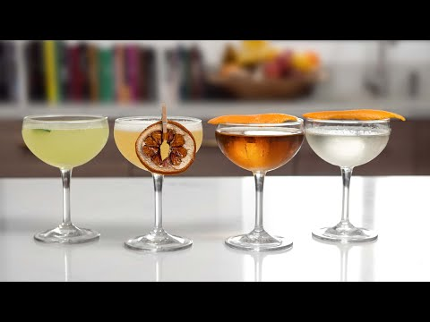 (HD) My 4 favorite gin cocktails - these will turn gin haters into lovers ❤️