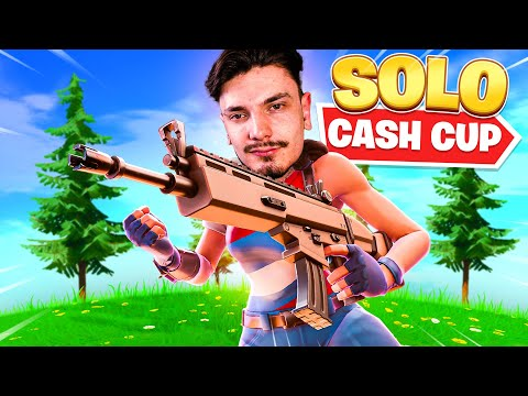(VFHD Online) I played my first solo cash cup of season 5! (fortnite battle royale)