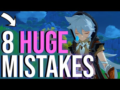 (New) Dont make these genshin impact mistakes!