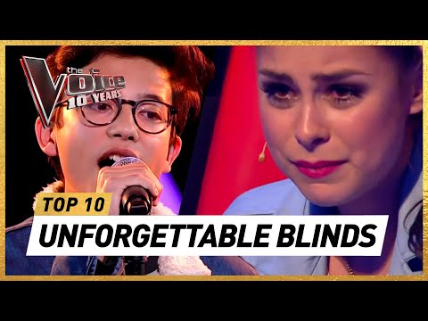 (New) Do you remember these iconic blind auditions of 10 years the voice kids?