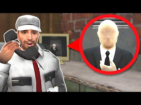 (New) Slender man is coming for us! - garrys mod gameplay