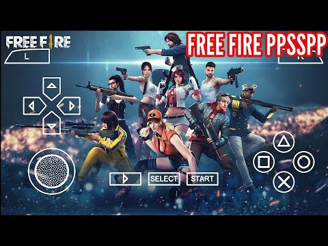 (New) Download free fire for ppsspp emulator.. [by tech world]