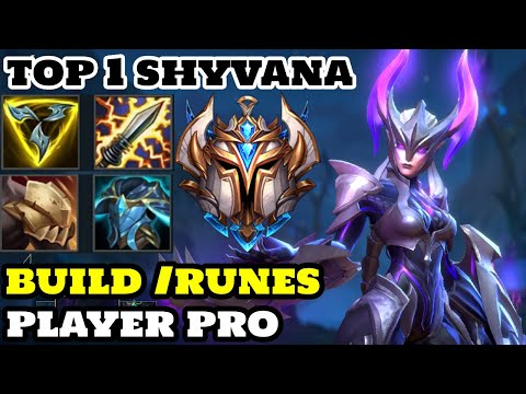 (New) Wild rift shyvana - gameplay shyvana best build