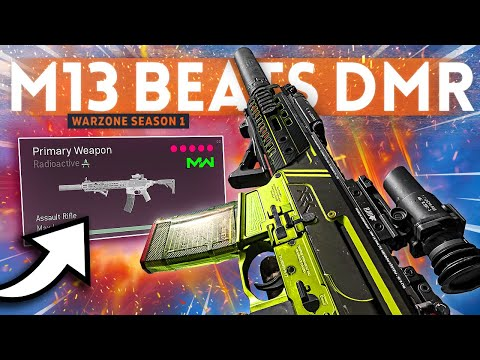 (New) This powerful m13 class setup beats the dmr in warzone! (extra flinch effect)