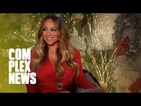 (VFHD Online) Mariah carey celebrates christmas with all i want for christmas is you