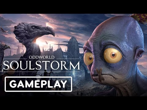 (New) Oddworld: soulstorm, full gameplay on playstation 5 (part 1) [4k hdr] - no commentary