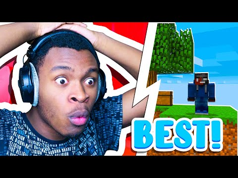 (New) Best skyblock server for minecraft bedrock edition!