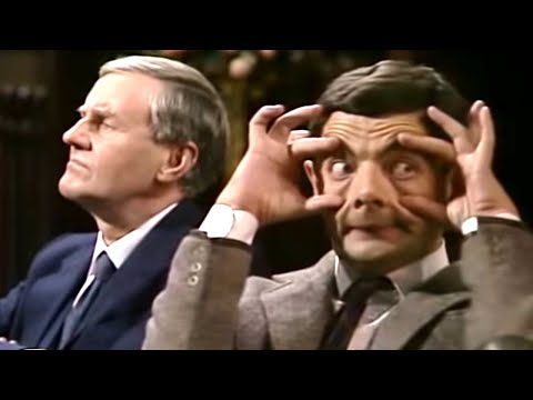 (Ver Filmes) Church with bean | funny clips | mr bean official