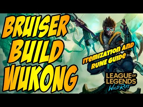 (VFHD Online) Wukong wild rift - wild rift wukong guide | tutorial for skill combo, items and gameplay
