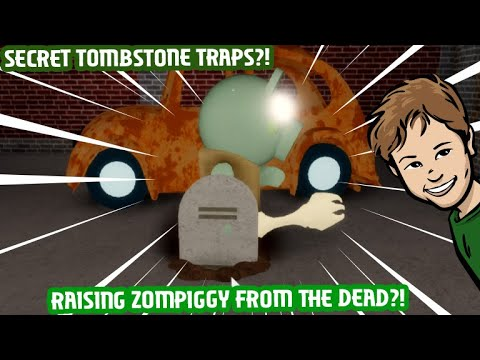 (HD) How to unlock the tombstone traps in roblox piggy!