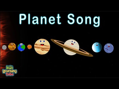 (New) The planet song for kids