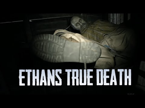 (New) The moment ethan winters really died in resident evil 7 - re 8 secrets revealed