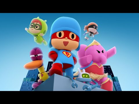 (New) 🎥 pocoyo the movie - pocoyo and the league of extraordinary super friends | cartoon movies for kids