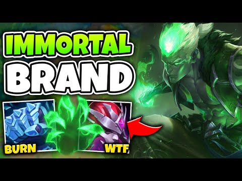 (New) Tank brand top can melt everyone and never die! (this is op) - league of legends