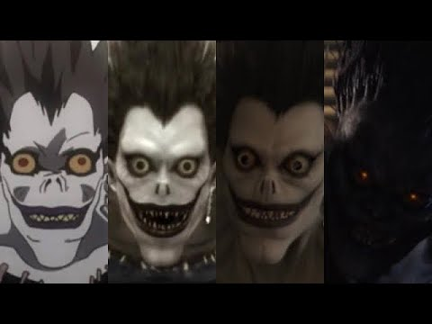 (New) Evolution of ryuk in anime e live action 2006 - 2017
