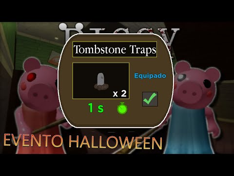 (New) Como conseguir a trap de halloween no piggy !!
