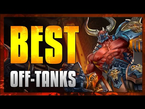 (New) Paladins- best off-tanks in sands of myth