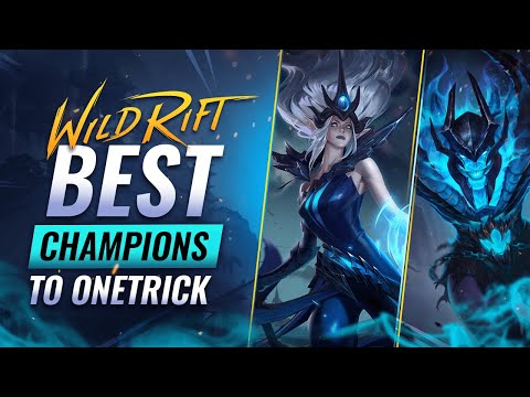 (New) Best champions to main   onetrick in wild rift (lol mobile)