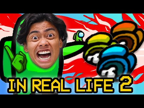 (New) Among us but in real life 2 (imposter iq 9,999,999%)