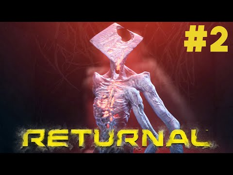 (New) Returnal (ps5) gameplay walkthrough part 2 - first boss (phrike)