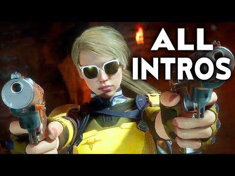 (New) Mortal kombat 11 cassie cage all intros dialogue character banter mk11