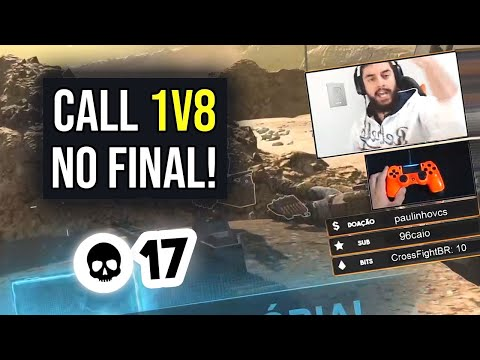 (HD) Insano! fiquei 1 vs 8 no final da partida! - call of duty: warzone