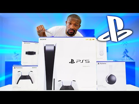 (New) My massive playstation 5 unboxing!