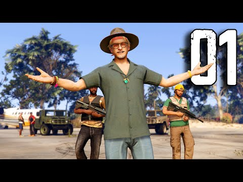 (New) Gta online cayo perico heist - part 1 - the beginning