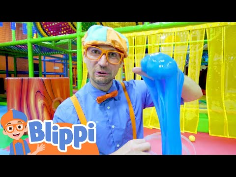(Ver Filmes) Learn five senses with blippi e more at the indoor kids playground | educational videos for toddlers
