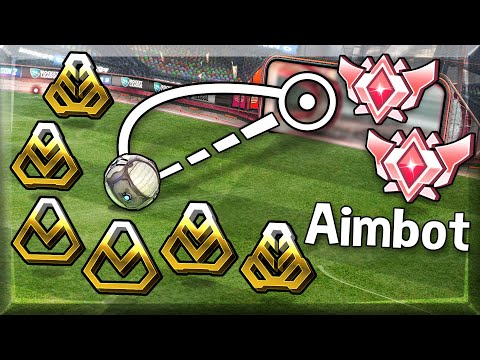 (New) Golds with aimbot win if they score one goal vs grand champions (2v6)